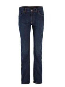 Jeans bio katoen Living Crafts - classic indigo washed