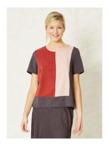 Shirt tencel Braintree - Thora roest 2