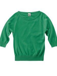 Hennep truitje HempAge - Sandy groen