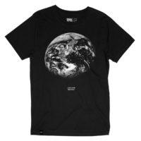 Fairtrade shirt bio katoen Dedicated - Stockholm zwart love your mother