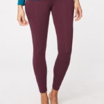 Legging bamboe Thought - bordeaux