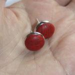 Oorstekers kurk Artelusa - rood