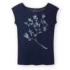 Fairtrade shirt bamboe Paala - winter berry donkerblauw 2