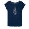 Fairtrade shirt tencel Paala - cyano pine donkerblauw 2