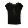 Fairtrade shirt tencel Paala - cyano pine zwart 2