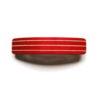 Haarspeld hout Kost Kamm - gekleurd M strepen rood 2